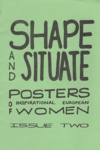 Shape and situate issue 2